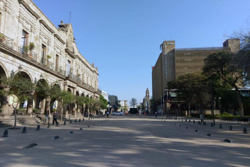 La Avenida Alcalde Como Corredor Peatonal